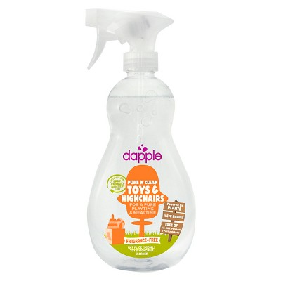 Multi-Surface Cleaner: Dapple Toy & High Chair