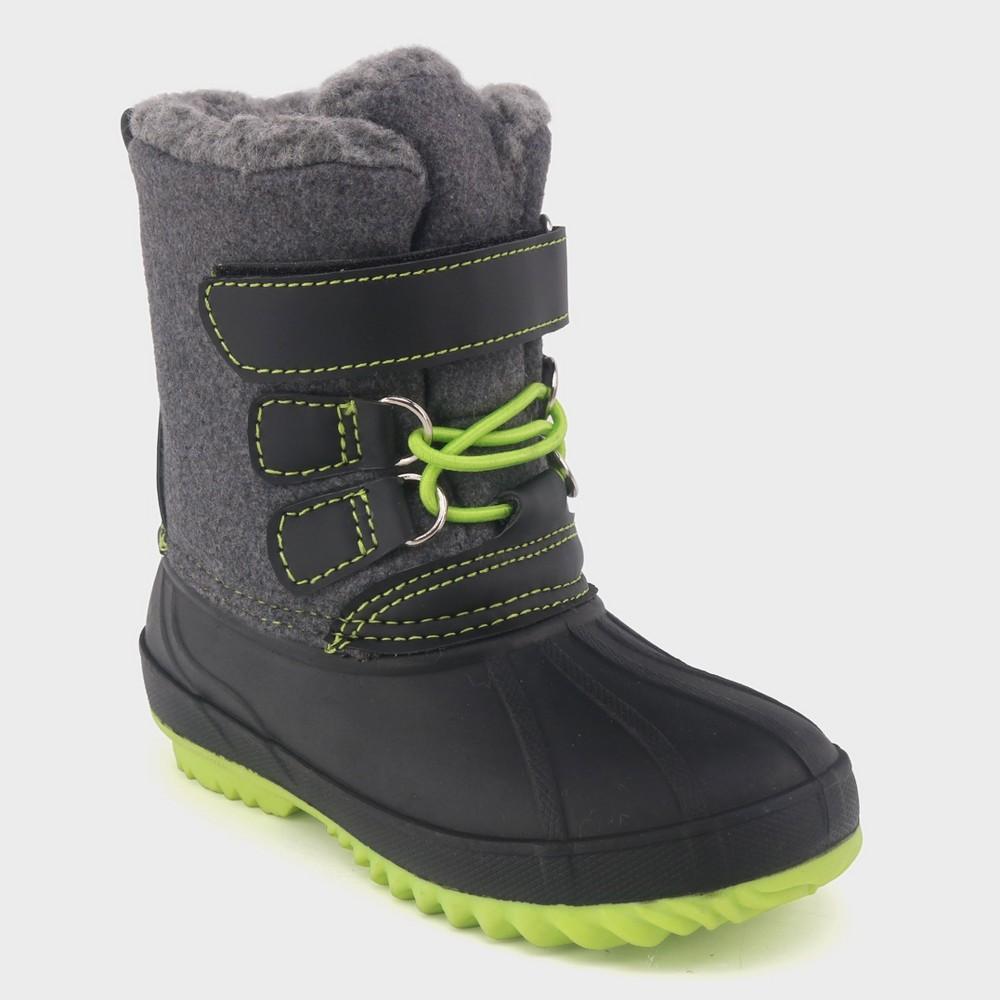 Toddler Boys' Bastien Winter Boots - Cat & Jack Gray 10