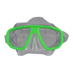 "Swimline Newport Recreational Swim Goggle Mask for Kids 5.5"" - Lime Green"