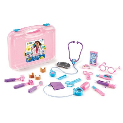 Learning Resources Pretend & Play Doctor Set, Pink, Ages 3+