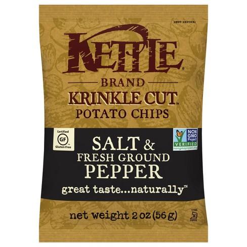 Kettle Caf Salt & Pepper Potato Chips - 2oz - image 1 of 4