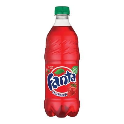 Fanta Strawberry Soda - 20 fl oz Bottle