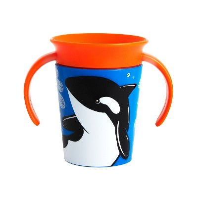 Munchkin Miracle 360° WildLove Trainer Cup - 6oz Orca