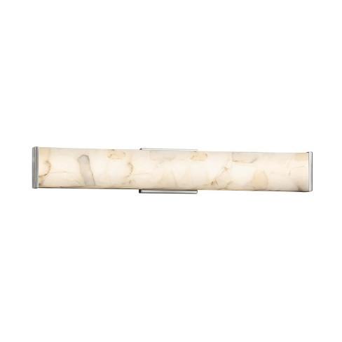 """Justice Design Group ALR-8605 Alabaster Rocks Single Light 28-1/2"""" Wide Integrated 3000K LED Bath Bar - image 1 of 1"""