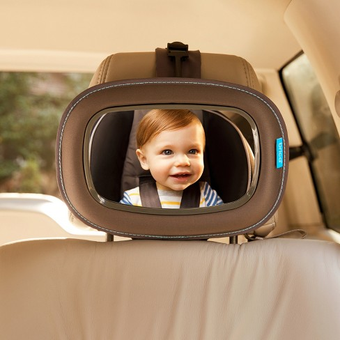 Brica Baby In Sight Soft Touch Auto Mirror For In Car Safety Gray