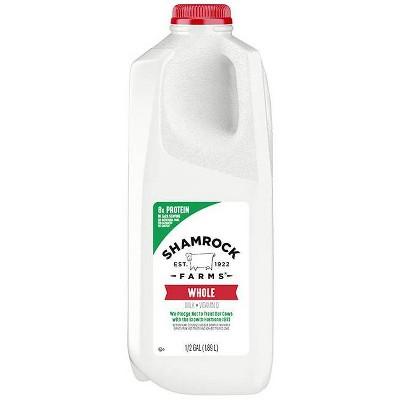 Shamrock Farms Vitamin D Milk - 0.5gal