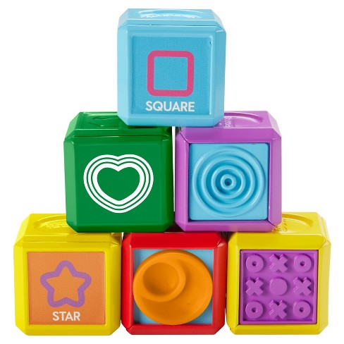 Fisher-Price Laugh and Learn First Words Shape Blocks - image 1 of 10