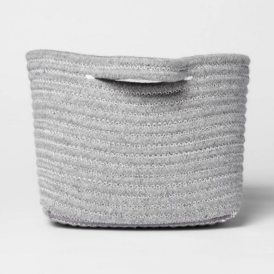 Bath Basket Small Crate Gray - Threshold™