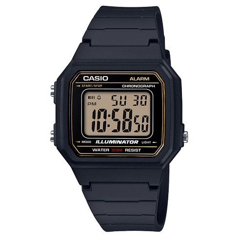 Casio Men's Classic Square Digital Sports Watch - Black - image 1 of 1