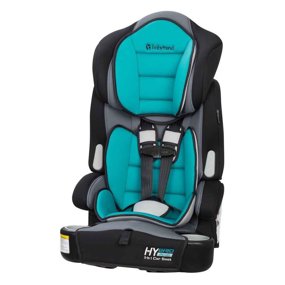 Image of Baby Trend Hybrid Plus 3-in-1 Car Seat - Teal Tide, Blue Tide