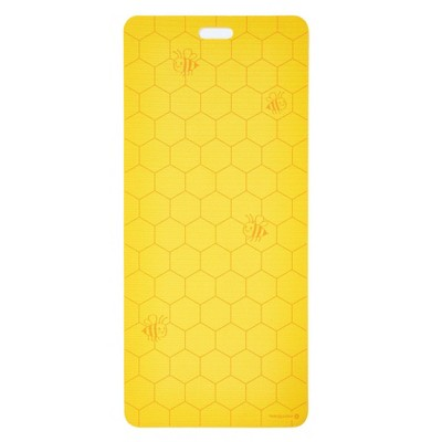 Merrithew Bees Kids' Eco Yoga Mat - Yellow (4mm)
