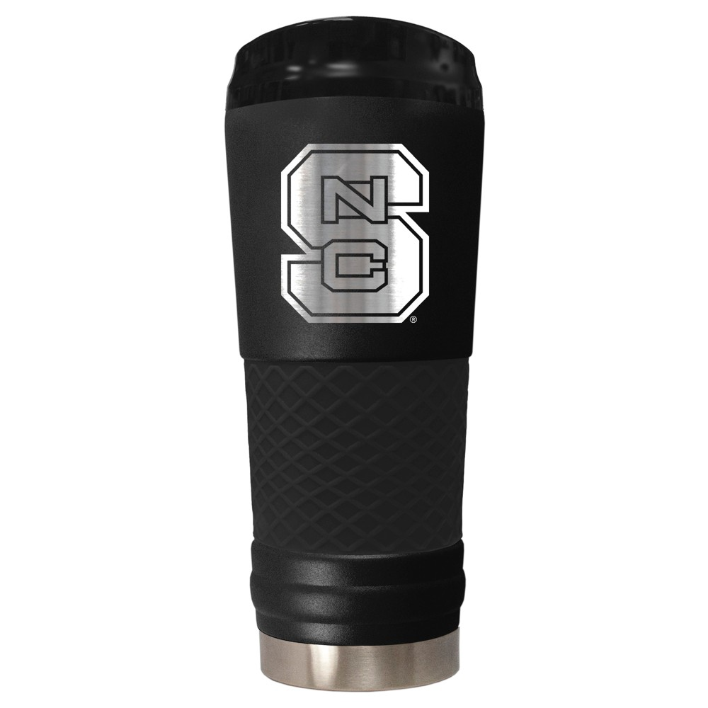NCAA Purdue Boilermakers 18oz Matte Black Stealth Stainless Tumbler