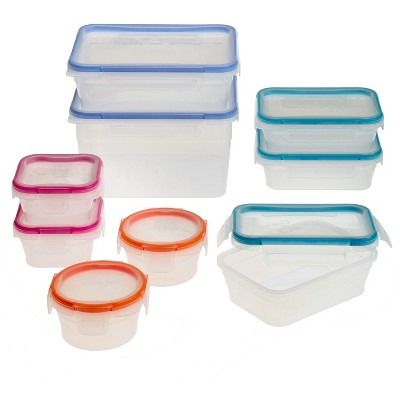 Snapware Total Solution, Plastic, 18pc Set