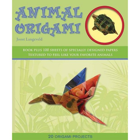 Animal Origami: A Step-by-Step Guide to Creating a Whole World of ... | 488x488