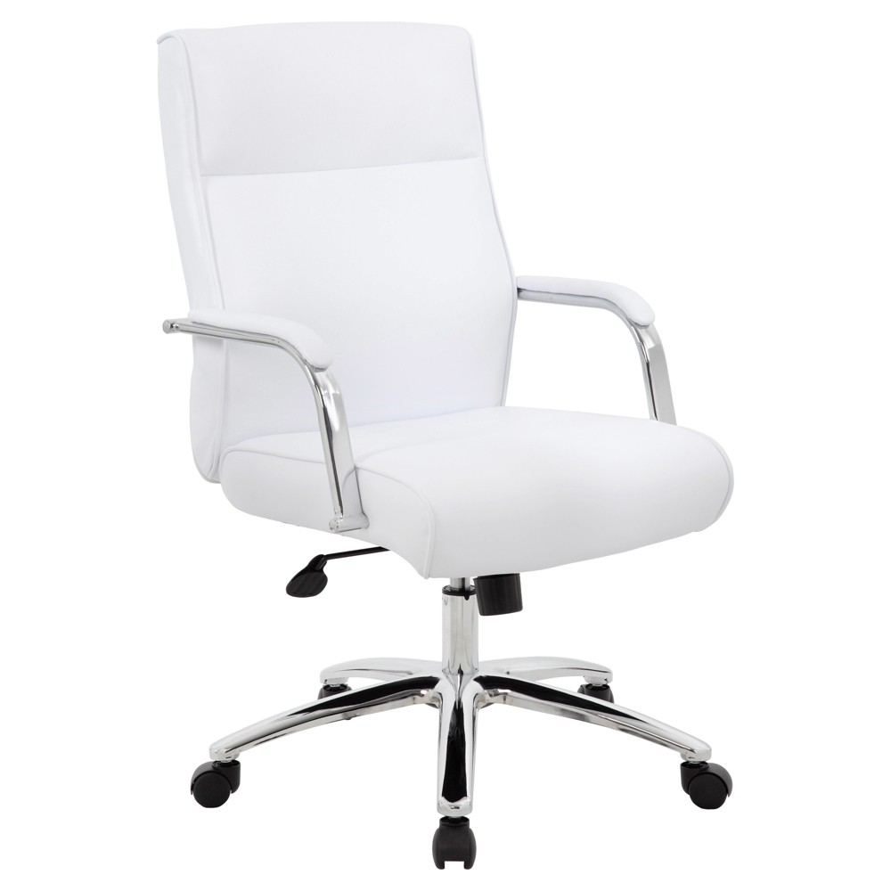 Modern Executive Conference Chair - White - Boss
