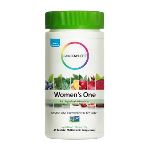 Rainbow Light Women's One Multivitamin Tablets - 45ct - image 1 of 3