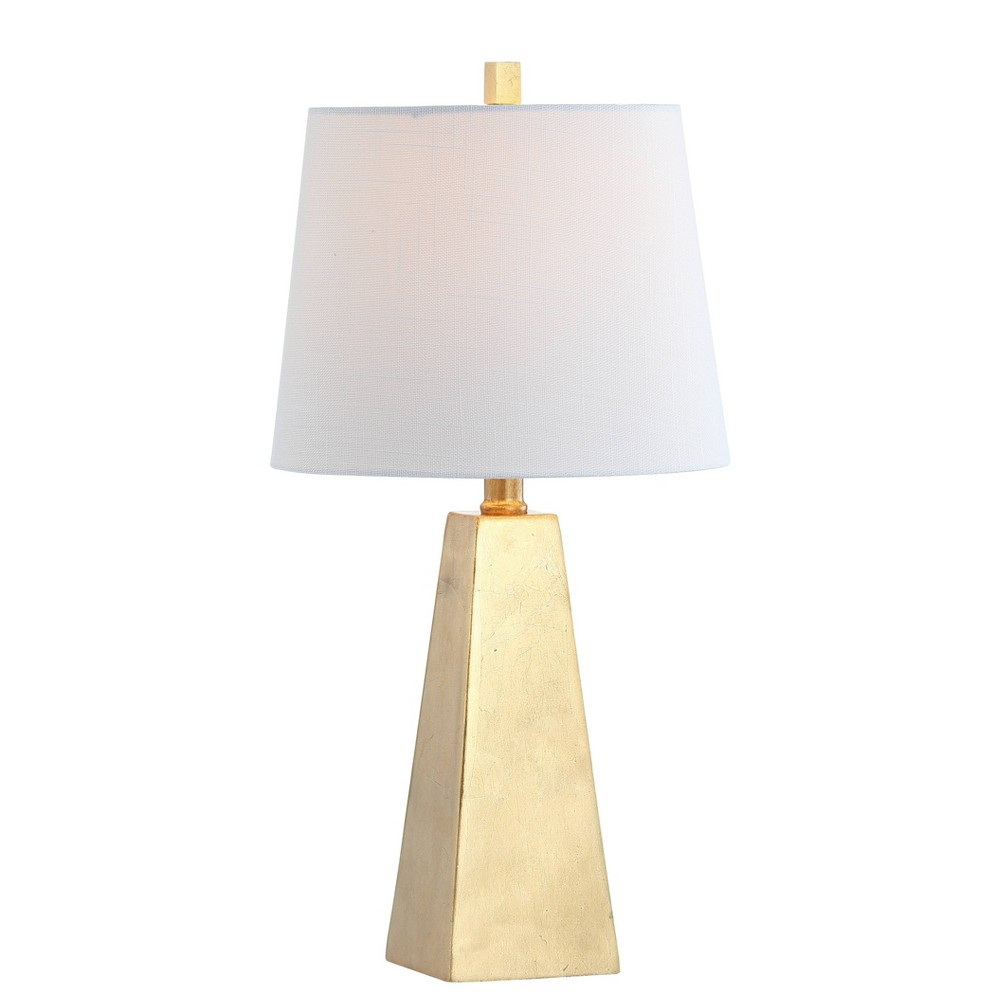 "Image of ""20.5"""" Alexis Resin LED Table Lamp Gold (Includes Energy Efficient Light Bulb) - JONATHAN Y"""