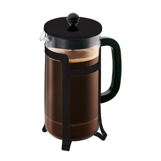 8cup Glass Jesper French Press Black - Bodum