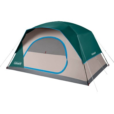 Coleman Skydome 8 Person Evergreen Tent