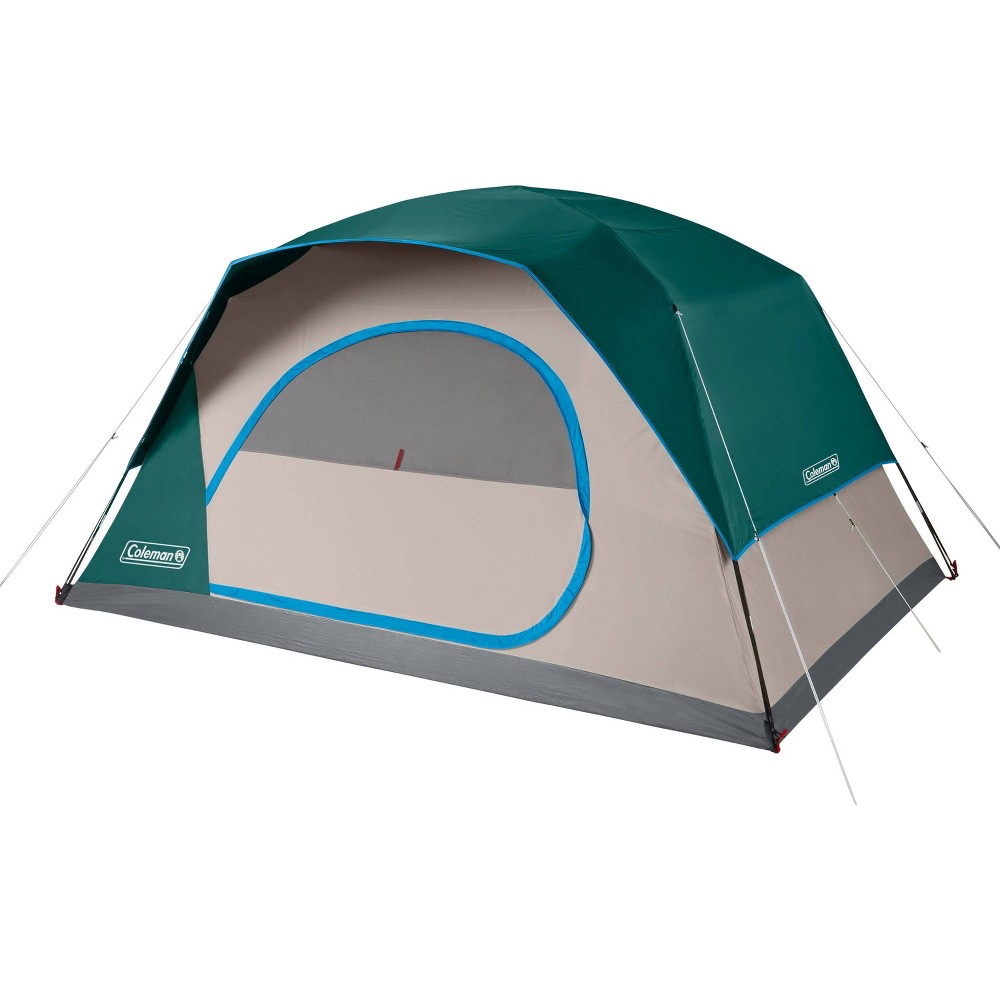 Coleman Skydome 8 Person Evergreen Tent Green