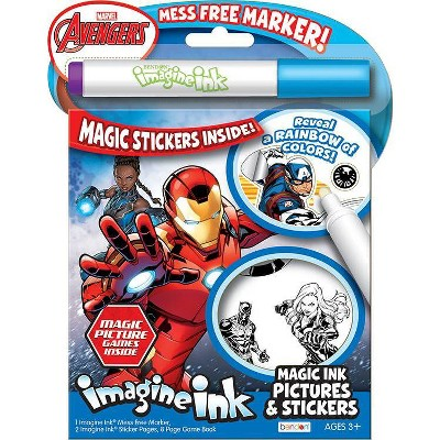 Avengers Imagine Ink Easter Stickers