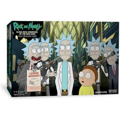 Rick and Morty - Deck Building Game - Close Rick-counters of the Rick Kind Board Game