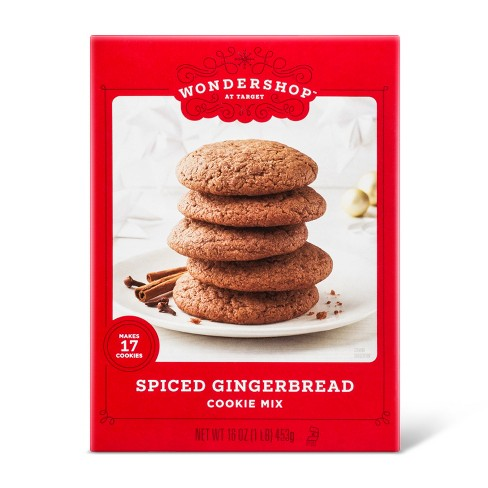Spiced Gingerbread Cookie Mix 16oz Wondershop