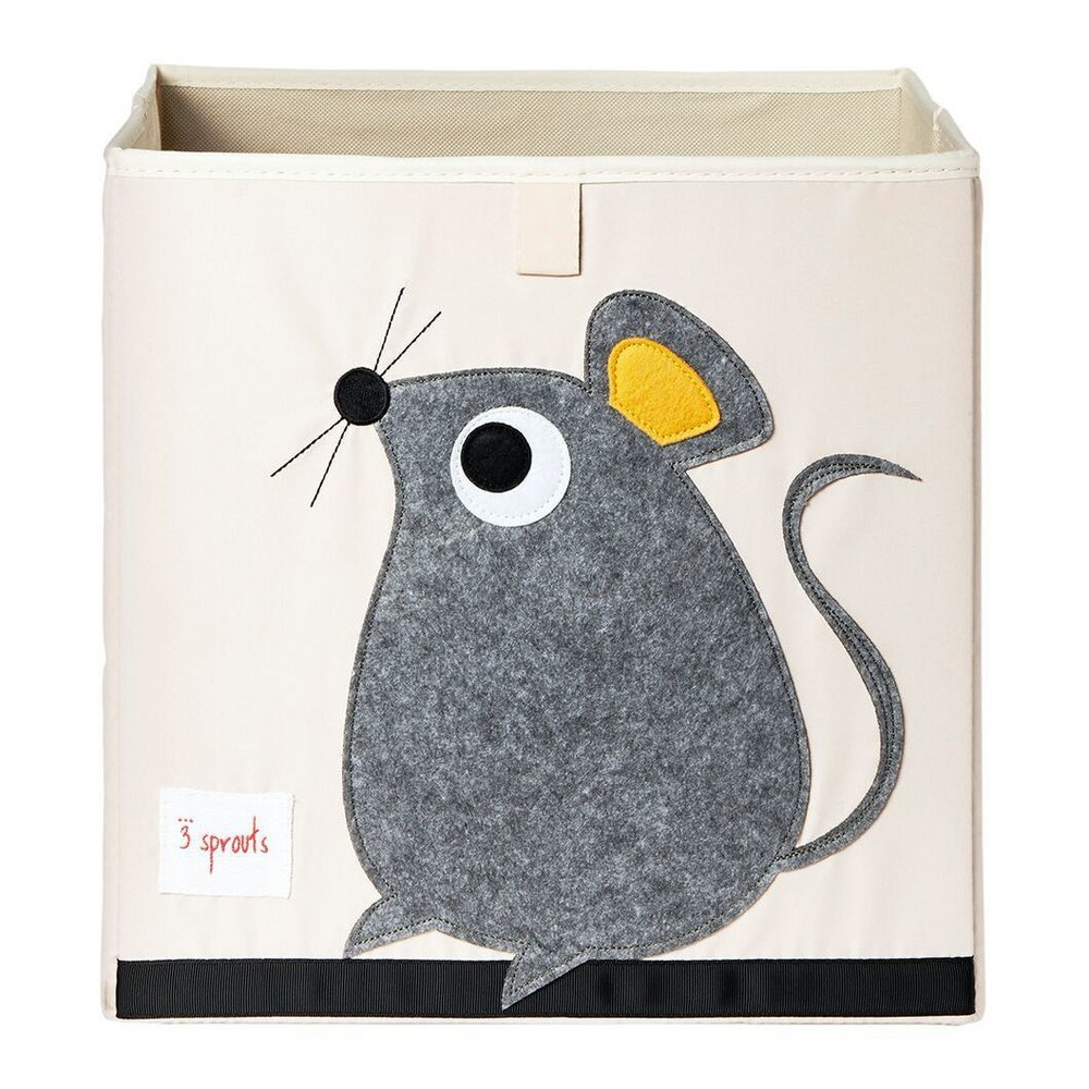 Image of Mouse Toy Storage Box - 3 Sprouts, Multi-Colored