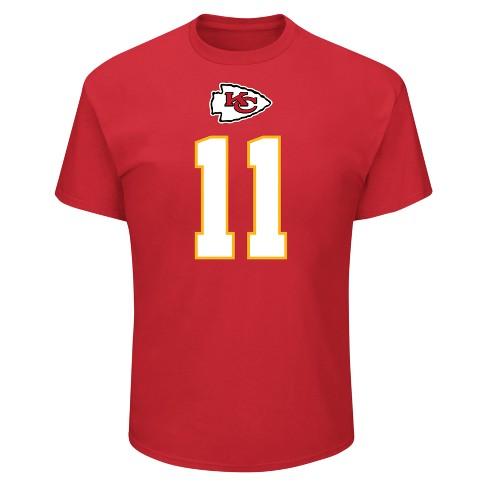 premium selection aba96 61d8c Kansas City Chiefs Men's Alex Smith Jersey T-Shirt - M