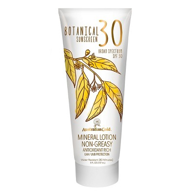 Sunscreen & Tanning: Australian Gold Botanical