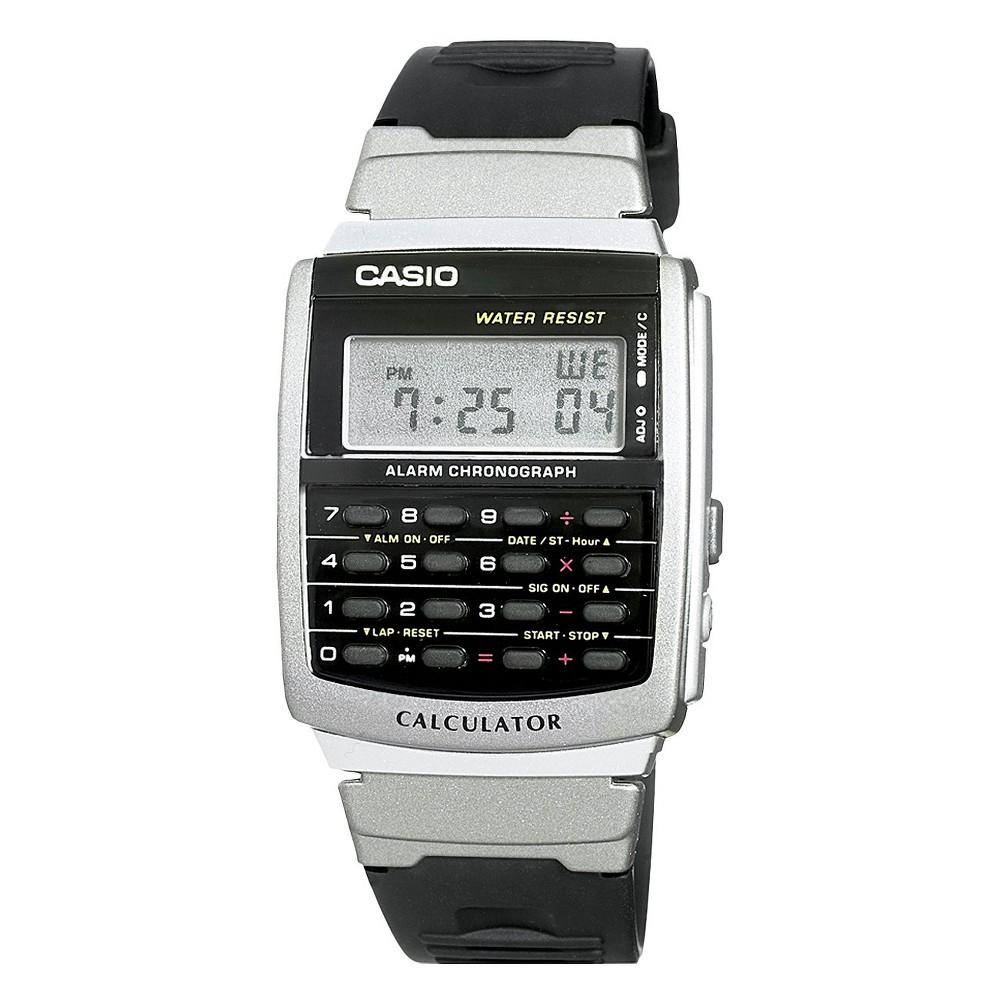 Men's Casio Calculator Watch - Black (CA56-1)
