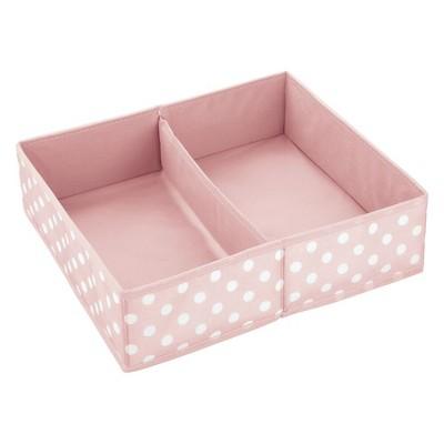 mDesign Fabric Dresser Drawer/Closet Storage Organizers, 2 Pack
