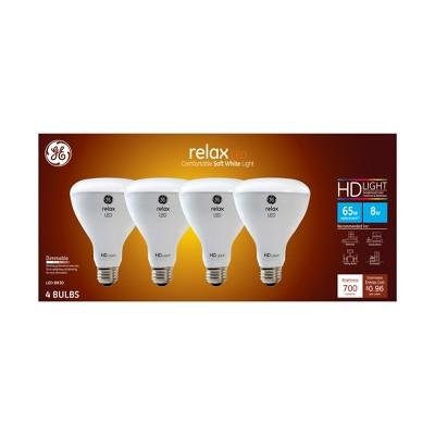 Ca Relax Light Bulb LED SW BR30 Dimming Long Life 4pk