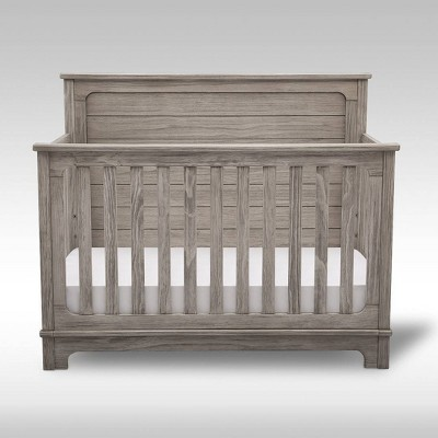 Simmons Kids' Slumbertime Monterey 4-in-1 Convertible Crib - Rustic White