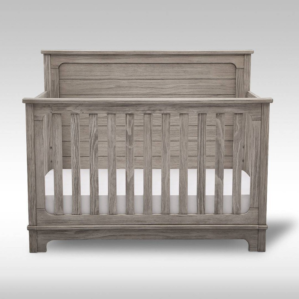 Promos Simmons Kids Slumbertime Monterey 4-in-1 Convertible Crib - Rustic White