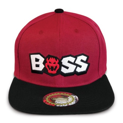 Nintendo Super Mario Snap Back Brimmed Hat - Bowser Boss - image 1 of 3