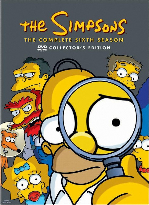 Simpsons:Season 6 (DVD) - image 1 of 1