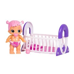 Little Live Bizzy Bubs - Bouncing Baby Gracie & Cute Crib Playset