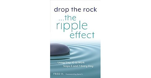 Drop the Rock : The Ripple Effect: Using Step Ten to Work Steps Six and Seven Every Day (Paperback) - image 1 of 1