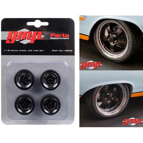 5-Spoke Wheel and Tire Pack of 4 from 1966 Ford Fairlane Street Fighter