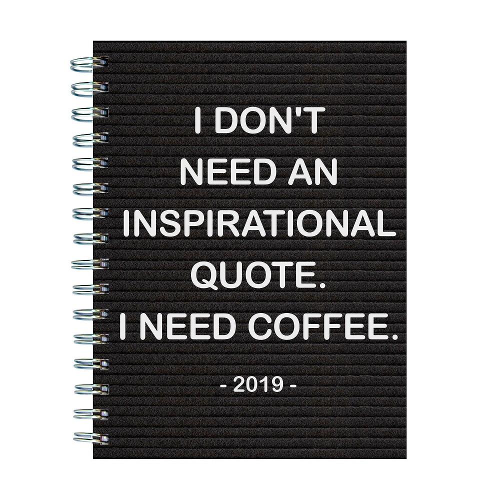 2019 Planner Coffee - TF Publishing, 2019 Tf Publishing Need Coffee Medium Planner