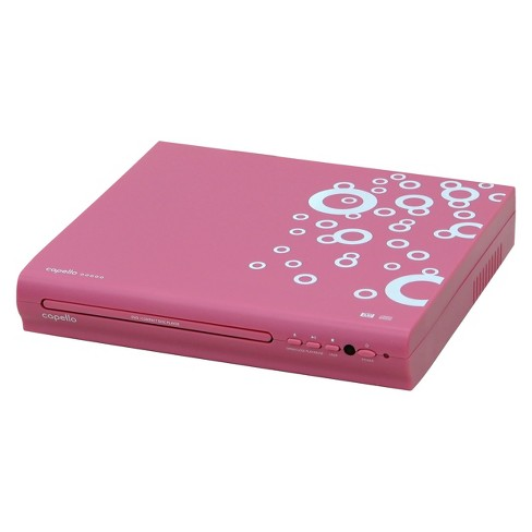 Capello 2 Channel HDMI DVD Player - Pink - image 1 of 3