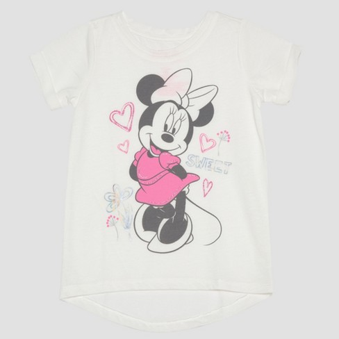 6f8d88ae9 Toddler Girls' 2pc Disney Mickey Mouse & Friends Minnie Mouse T-Shirts -  Yellow