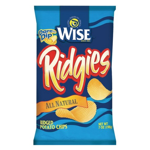 Wise Ridgies All Natural Potato Chips - 7oz - image 1 of 1