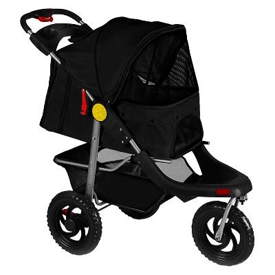 Paws & Pals Heavy Duty Pet Stroller - Black