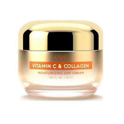 Azure Skincare Vitamin C and Collagen Day Cream - 1.69 fl oz