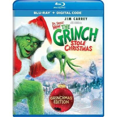 Dr Seuss-How The Grinch Stole Christmas-Grinchmas Edition (Blu-ray)