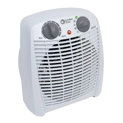 Comfort Zone Energy Save Personal Heater Fan - image 1 of 2