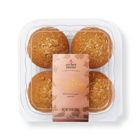 Pumpkin Muffins - 16oz/4ct - Archer Farms™ - image 1 of 4