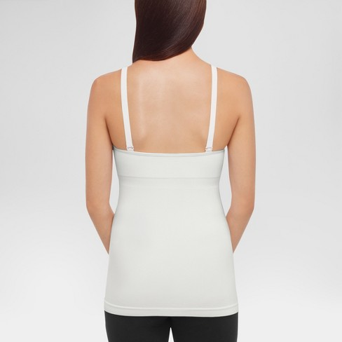 8912223419963 Medela® Women s Slimming Nursing Cami With Removable Pads - White M   Target